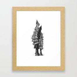 "Native Texas Plants ""I"" Framed Art Print"