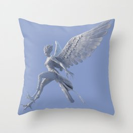 Syrenox - the Siren Throw Pillow