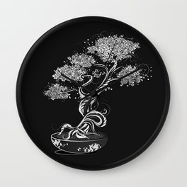 Bonsai tree Wall Clock