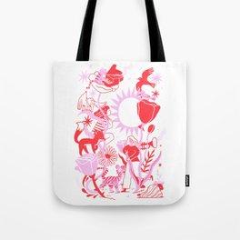 Jazzy Doodle Tote Bag
