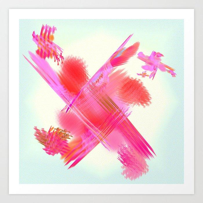 the crossing Art Print