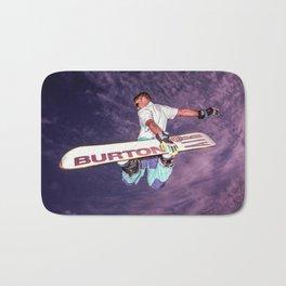 Snowboarding #2 Bath Mat