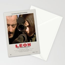 Léon: The Professional (1994) Minimalist Poster Stationery Cards