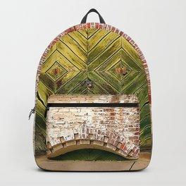 Rustic Carriage Doors Backpack