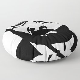 Face Pucker - M Floor Pillow
