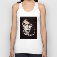 """rocky horror picture show Tank Tops featuring Rocky Horror Picture Show """"Sweet Transvestite"""" by Kristin Frenzel"""