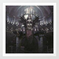 Death Spell Art Print