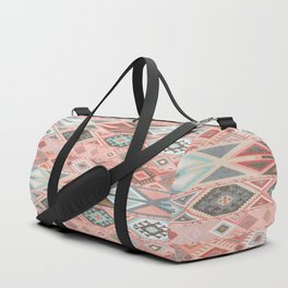 Aztec Artisan Tribal in Pink Duffle Bag