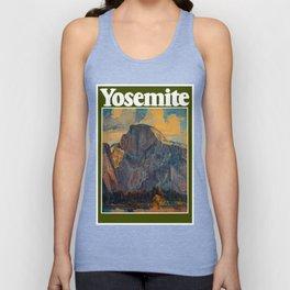 Vintage Yosemite National Park Unisex Tank Top