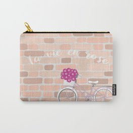 La vie en rose Carry-All Pouch