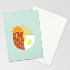 Breakfast Crest Stationery Cards