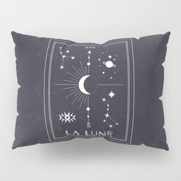 The Moon or La Lune Tarot Pillow Sham