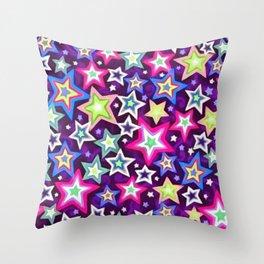 Stars On Stars Throw Pillow