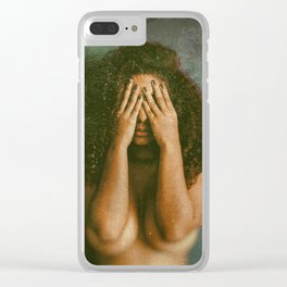 Memoria blasfema 01 Clear iPhone Case