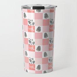 Sweet Bunny Sweet Pea Quilt Travel Mug
