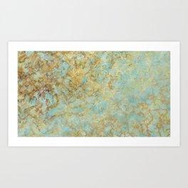 Marble Texture Art Print