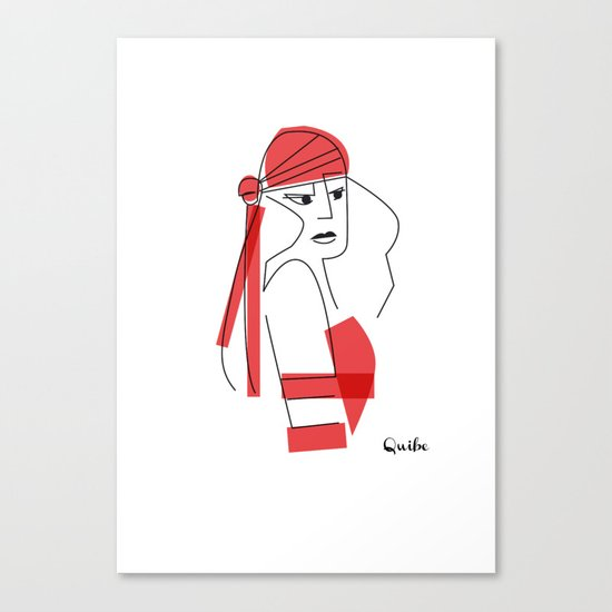 Elektra-assassin Canvas Print