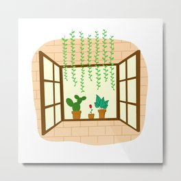 Little Garden Metal Print