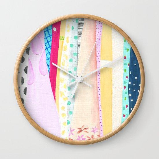Dresses Wall Clock