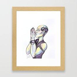Pr(e)y Framed Art Print