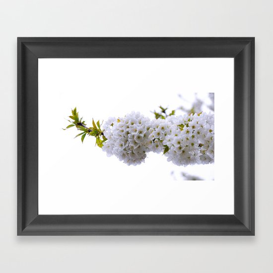 spring mode on Framed Art Print