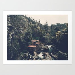 Mountain Wanderlust Art Print