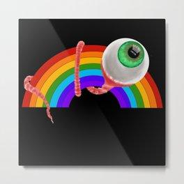 Pride Eyeball Metal Print