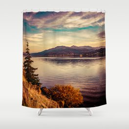 Serenity Lake Shower Curtain