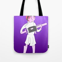 gumball Tote Bags featuring Dr. Gumball by Jerome Animations