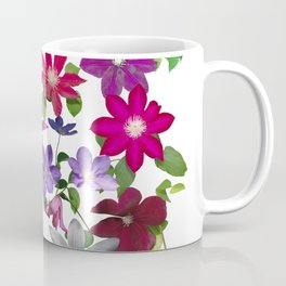 Cascade of Clematis Coffee Mug
