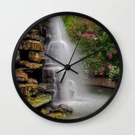 Zoo Waterfall Wall Clock