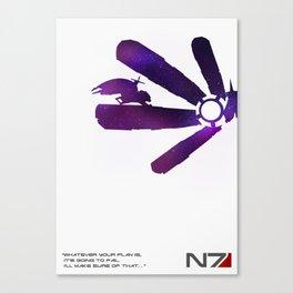 Mass Effect 1 Canvas Print