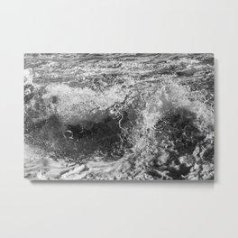 Wave Study No. 8271 Metal Print