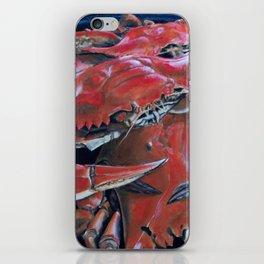 Big Mess of Crabs iPhone Skin