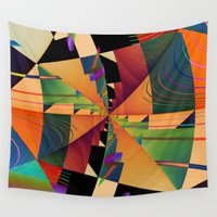 sail Wall Tapestries featuring Sail by Bill Fester Designs