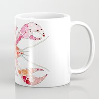 lobster Mugs featuring Lobster by fossilized