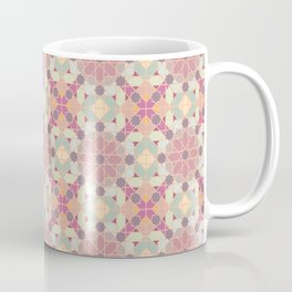 modern arabic pattern in pastel colors Coffee Mug