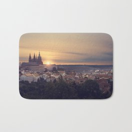 Sunrise in Prague Bath Mat