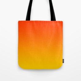 Orange & Yellow Color Gradient Tote Bag