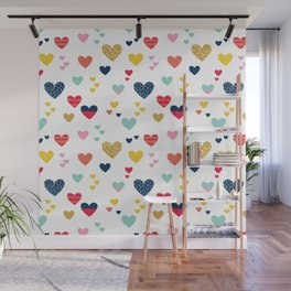 cheerful hearts Wall Mural