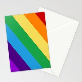 Rainbow flag Stationery Cards