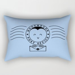Cute Hogsmeade Post Office Stamp Rectangular Pillow
