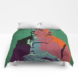 Nosferatu At Rest Comforters
