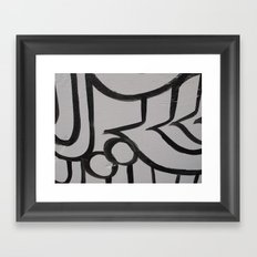 Linework 3 Framed Art Print