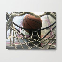 View From Under The Rim Metal Print