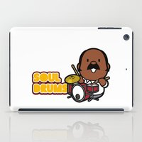 drums iPad Cases featuring Soul Drums ! by bbq source