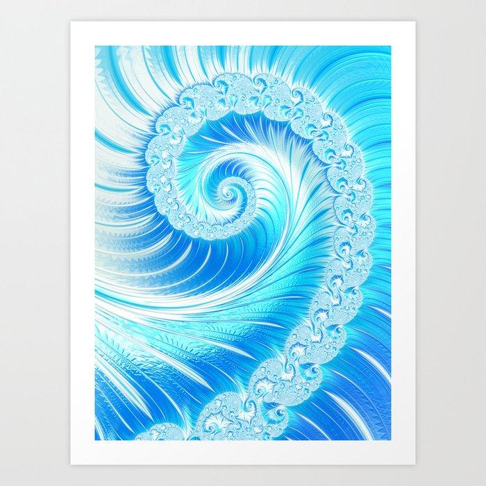 Frozen Vortex Kunstdrucke