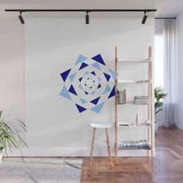 Star of David 36- Jerusalem -יְרוּשָׁלַיִם,israel,hebrew,judaism,jew,david,magen david Wall Mural