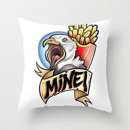 Beach Chicken Throw Pillow