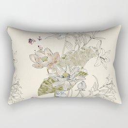 Lotus art Rectangular Pillow